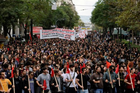 Student Unionism & The Fight Against Austerity & Privatization In Greece
