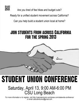 student union conference 3 flier