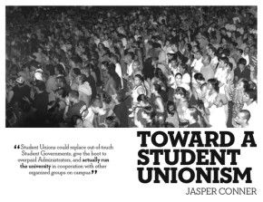 Toward a StudentUnionism