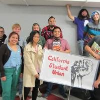 The organizing die hards at the Spring 2014 Statewide Conference at CSUDH (4.26.14)
